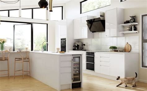 wickes kitchen accessories sofia white gloss kitchen wickes co uk 1084
