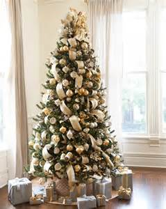 Artificial Noble Fir Christmas Trees by Silver And Gold Christmas Tree Christmas Tree Decorating