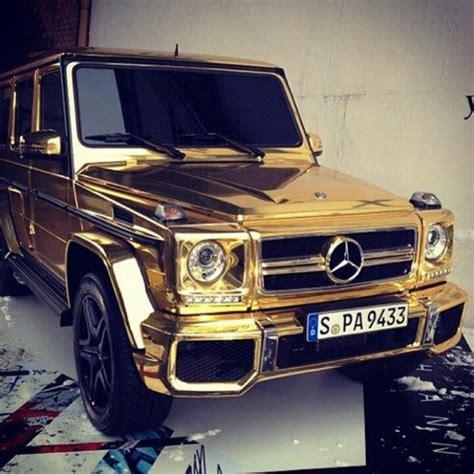 mercedes benz jeep gold gold chrome mercedes g class cars pinterest gold