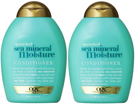 Ogx Shampoo, Quenched Sea Mineral Moisture