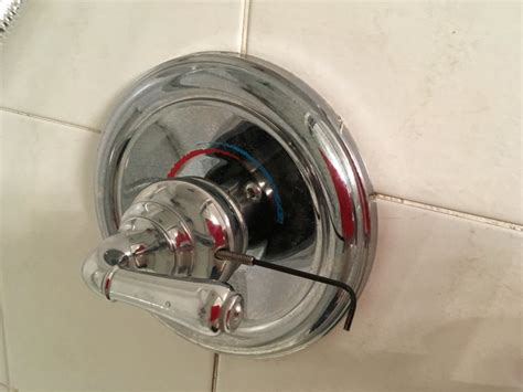 Remove Shower Handle Can T Remove Moen Monticello Shower Handle Terry