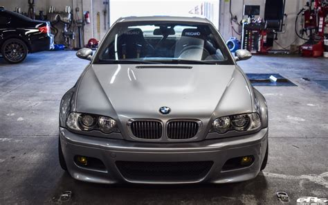 Bmw E46 Parts by Beautiful Silver Gray Bmw E46 M3 Gets Aftermarket Tuning Parts