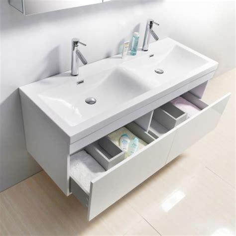 55 Inch Vanity Sink - 55 inch sink white bathroom vanity contemporary