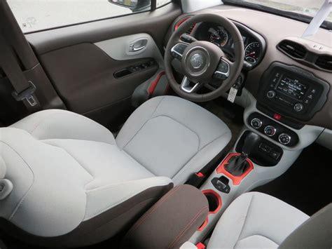 jeep renegade interior orange 2015 jeep renegade latitude with ski gray bark brown