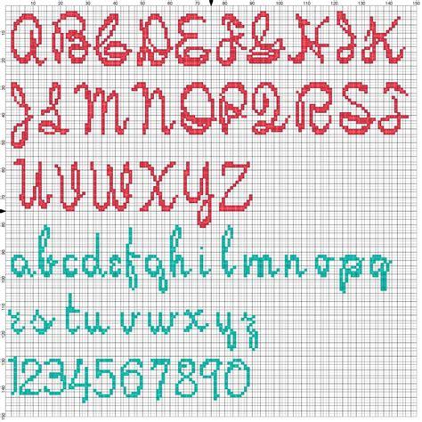 lettere a punto croce per bavaglini amorevitacrocette serena e alessandro a punto croce