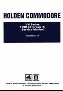 Holden Commodore Vn Series Service Manual Volume 11