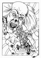 Coloring Pennywise Pages Clown Scary Halloween Horror Adult Printable Adults Print Evil Getcolorings Sheets Movie Books Inspirational Clowns Coloringfolder Drawing sketch template