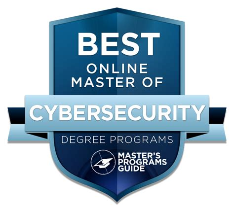 master  cybersecurity degree programs