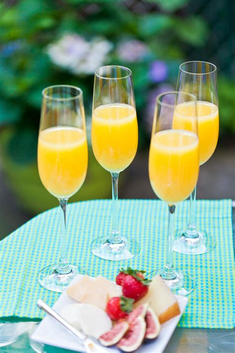 ingredients for mimosas spicy mimosa recipe hgtv