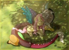 MLP Discord and Fluttershy