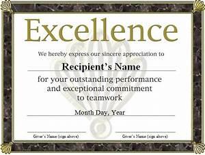 free funny award certificates templates | free award ...