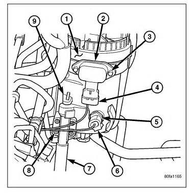 2005 Dodge Grand Caravan Fuel Filter Location by Where Is The Fuel Filter Located On A 2005 Dodge 5 9