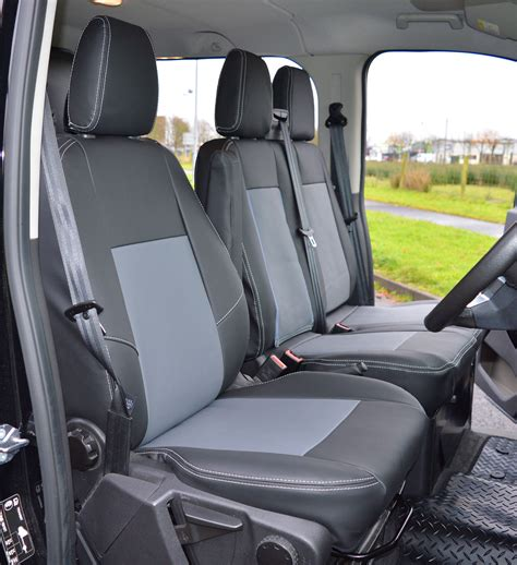 ford transit custom crew cab waterproof tailored van seat