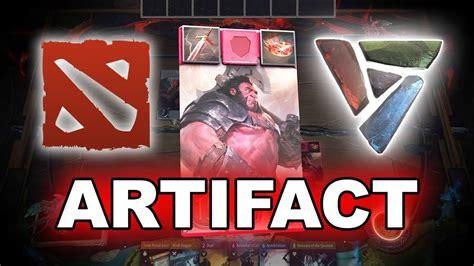 dota 2 artifact gameplay youtube