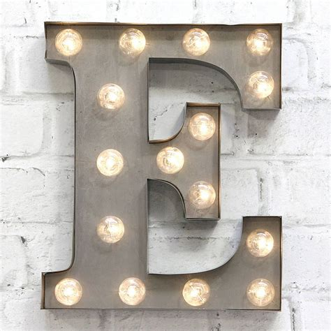 Carnival Lights by E Silver Product Light Letters Carnival Lights