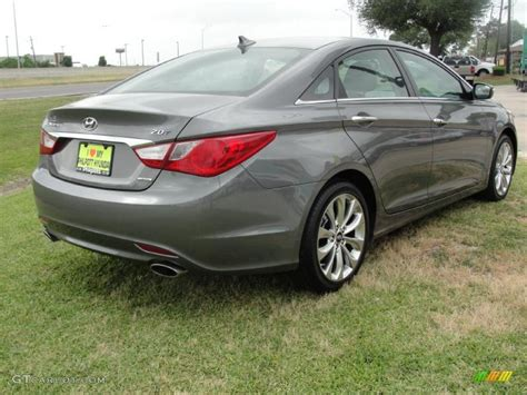 harbor gray metallic  hyundai sonata limited
