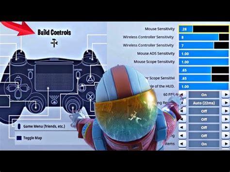 fortnite controller settings psxbox
