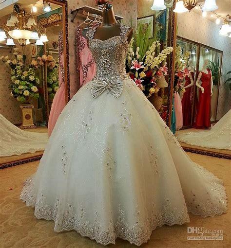 style sexy crystals luxury wedding dresses