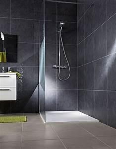 Revetement Mural Salle De Bain Adhesif : quel rev tement pour la salle de bains c t maison ~ Dailycaller-alerts.com Idées de Décoration
