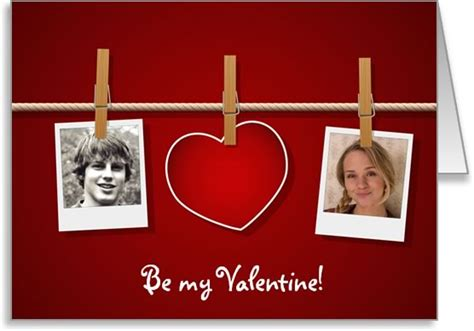 valentine photo card templates ms word format