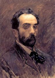 Isaac Levitan Self Portrait