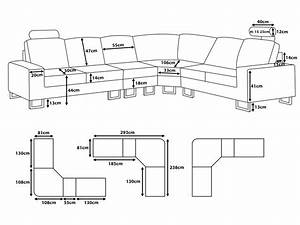 Sectional sofa dimensions standard sizes ideas for for Standard sectional sofa sizes