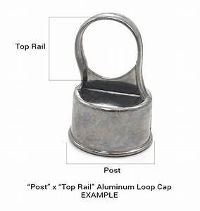 2 U0026quot  X 1 3  8 U0026quot  Black Loop Cap  Fits 1 7  8 U0026quot  Od