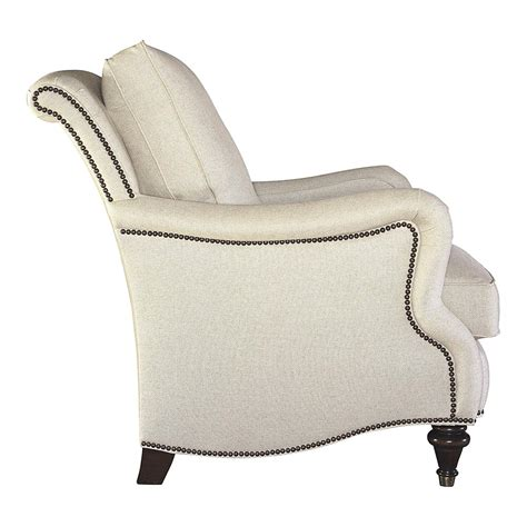 comfortable blend fill fabric accent chair