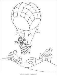 heissluftballon  gratis malvorlage  flugzeuge