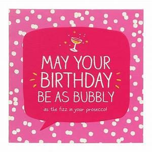 Happy Jackson Bubbly Prosecco Birthday Card Temptation Gifts