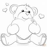 Heart Coloring Pages Key Printable Getcolorings sketch template
