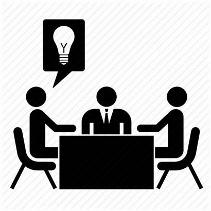 Meeting Icon Office Conference Business Icons Idea