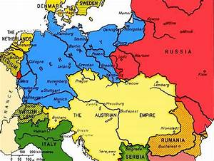 Image Gallery Germany 1914 Map