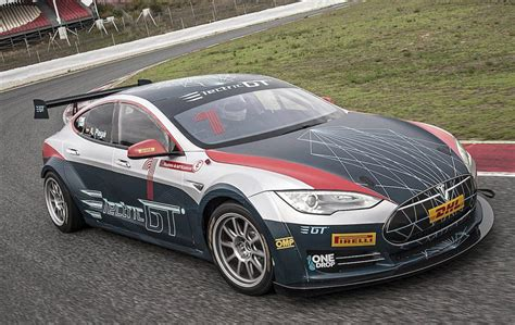 Tesla Racing Series by Electric Gt Ev Series Debuts Its Race Ready Tesla Model S