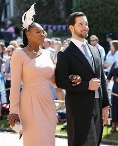 Serena williams attends the royal wedding for Serena williams wedding dress