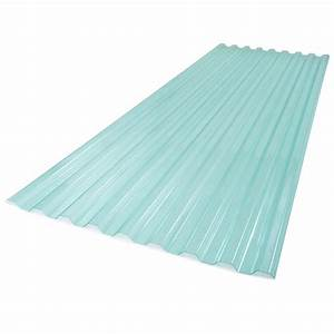 4 Ft Sedona Brick Polycarbonate Roof Panel Wall Connector
