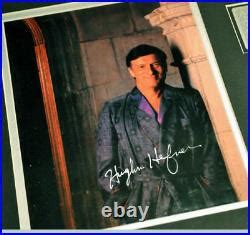 FRAMED Signed HUGH HEFNER, Playboy Club CARD, MUG, PLATE ...