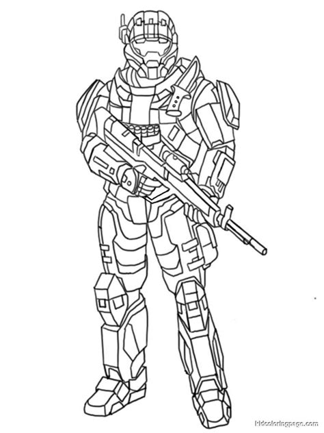 halo printable coloring pages coloring home