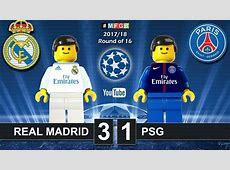 Real Madrid vs PSG Paris SaintGermain 31 • Champions