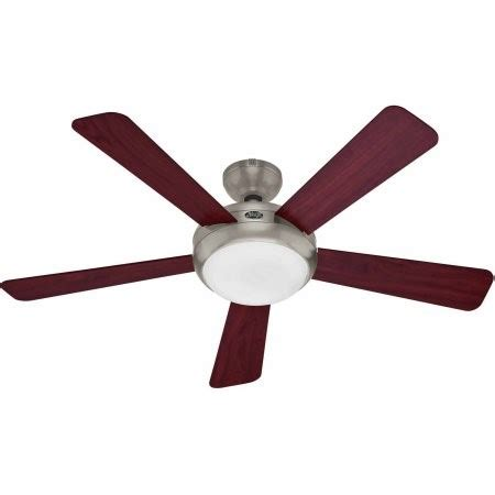 ceiling fan winter mode palermo 52 in brushed nickel indoor ceiling fan jet com