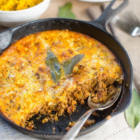 bobotie  classic south african casserole