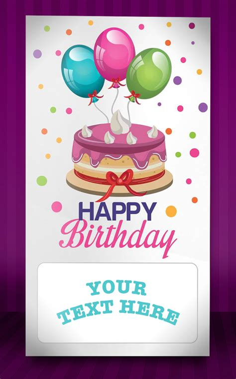 Birthday Cards & Invitations for Android Free download
