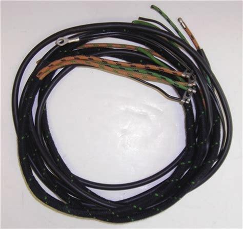 1954 57 jaguar xk140 overdrive wiring harness