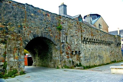 galway spanish arch medieval wall  joseph