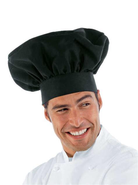 toqué 2 cuisine chapeau chef cuisinier noir cuisine mylookpro com