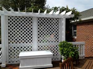 Deck Bird Bath by Lattice Privacy Screen For Deck Interesting Ideas For Home