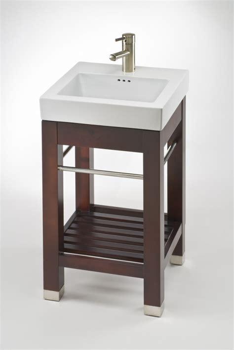 single sink square console bathroom vanity