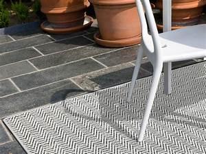 nature silver outdoorteppich wetterfest wunschmass With balkon teppich mit tapete schlafzimmer edel