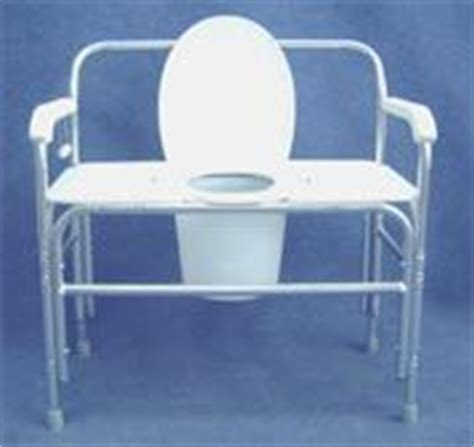 toilet chair for adults new convaquip 730 bariatric bedside commode toilet chair for sale dotmed listing 538684