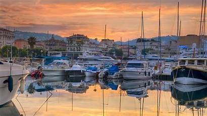 Cannes Port Vieux Bing France Boats Wallpapers